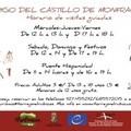 HORARIO DE OTOÑO DE LAS VISITAS DEL ABRIGO DEL CASTILLO