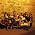 Foto de ganadores y participantes en la sección alternativa