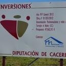 COMIENZAN LAS OBRAS DEL PLAN PROVINCIAL 2012