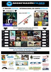 El MONFRAGÜE FILMS FESTIVAL CELEBRA SU TERCERA EDICION