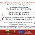 HORARIO DE INVIERNO DEL ABRIGO DEL CASTILLO DE MONFRAGÜE